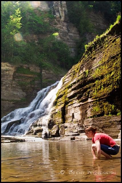 Mandy at Lucifer Falls - Ithaca, NY