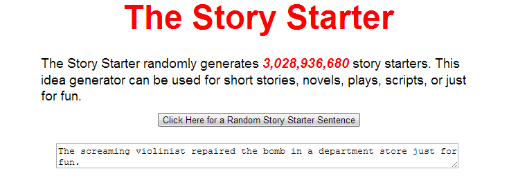 Story Starter